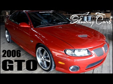 2006 Pontiac GTO. an in depth review