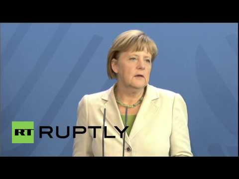 Germany: Merkel warns Russia to expect more sanctions from Europe