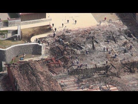 琉球王国の450年の歴史 首里城は「沖縄人の心のシンボル」/首里城火災で実況見分 警察・消防、原因特定急ぐ/「悪い夢…他