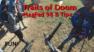 Magfed Paintball Tippmann 98 Tipx 12 Round TruFeeds Full Game Paintball Country