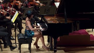 Yuja Wang at Carnegie Hall : Tchaikovsky's Piano Concerto No. 1 & Encore (FULL Video in HD)