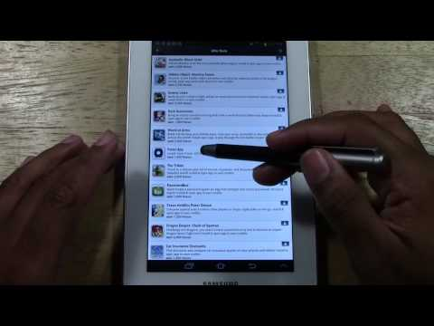 Best App Ever for the Galaxy Tab 2 7.0   H2TechVideos