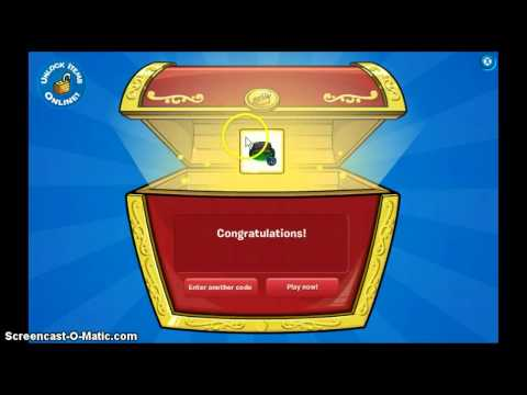 Club Penguin: 20 FREE CHEAT CODES! 31 May 2013