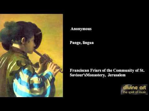 Anonymous - Pange lingua III