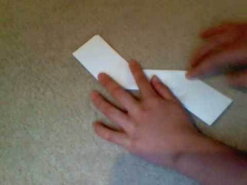 how to make a big ninja star out of paper