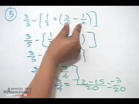 Eliminación de signos de agrupación y reducción de términos