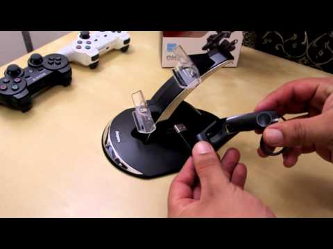 Energizer Power and Play Charging System For The Ps3 Unboxing/Review