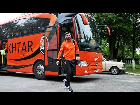 First training of Paulo Fonseca at Shakhtar