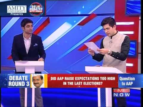 Delhi Debates With Arnab - Full Debate