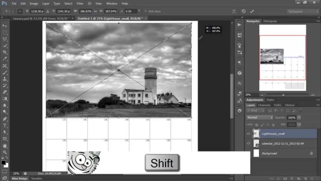 how to make photobook in photoshop