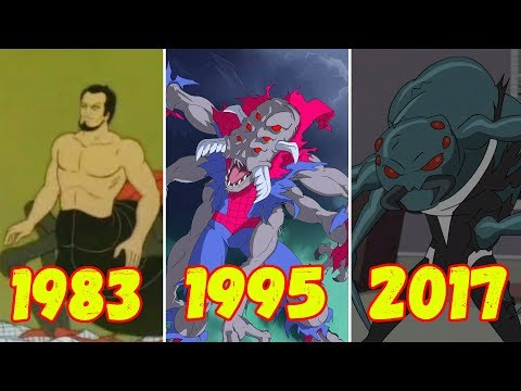 Эволюция Человека-паука мутанта (1983-2017)