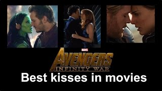 Best kisses of avengers in movies