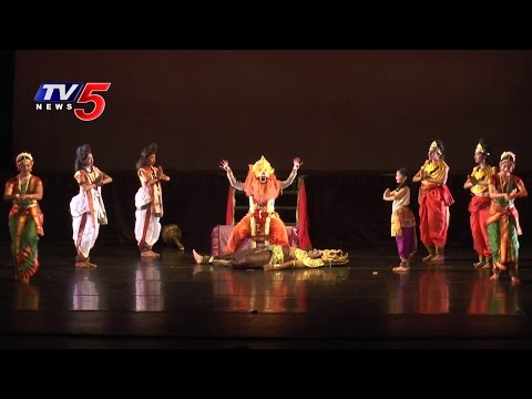 Indian Traditional  Dance Show In The Presence Of Madhuri School | America | TV5 News