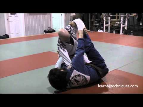 Spider Guard Setup Triangle Choke Submission - BJJ Image 1