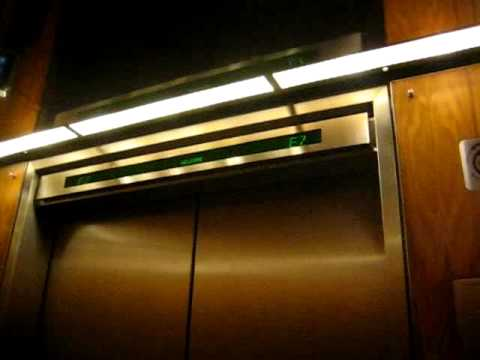 OTIS ULTRA-FAST Elevator No. 70 @ Royal Trust Tower at the TD Centre in Toronto ON (33-45) Video