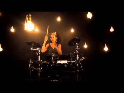 Alesis Command Kit drum set introduction with Jas Kayser