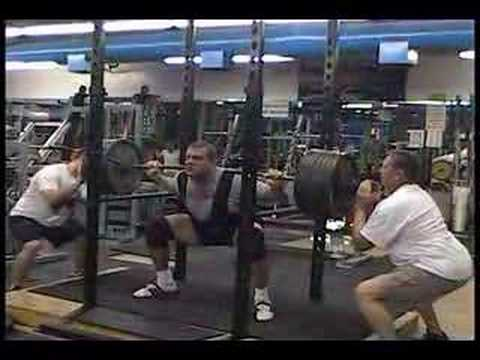 Ortmayer Powerlifting Meet-Squat Image 1