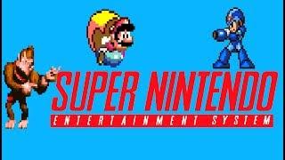 Top 40 best SNES Platform games.