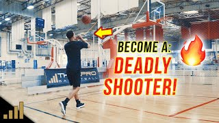 How to: BECOME A DEADLY SHOOTER! Increase Basketball Shooting Speed & Accuracy
