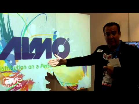 InfoComm 2014: Almo Pro AV Talks About the Epson PowerLite 485w Short Throw Projector