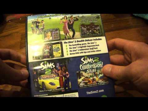 Unboxing The Sims 2 Double Deluxe