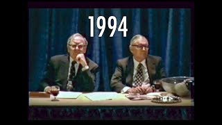 1994 Berkshire Hathaway Annual Meeting Warren Buffett Charlie Munger Bill Ackman FULL Q&A