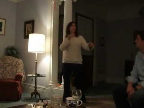 Funny Pregnancy announcement by Charades