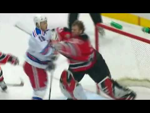 The Sean Avery / Martin Brodeur Show Video