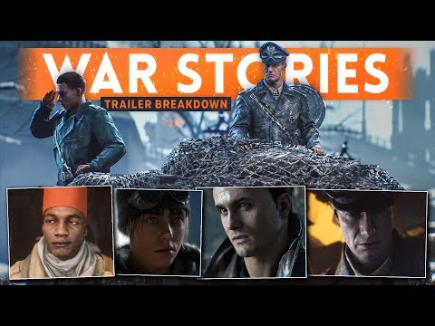 BATTLEFIELD 5 WAR STORIES Trailer Breakdown! - Single Player Info + *HIDDEN* Details!