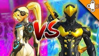 WORLD'S *BEST* GENJI VS WIDOW DUEL! Overwatch Funny & Epic Moments 448