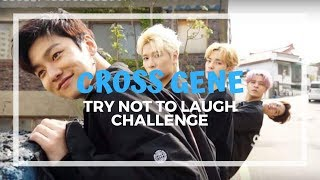 Cross Gene - Try not to laugh challenge