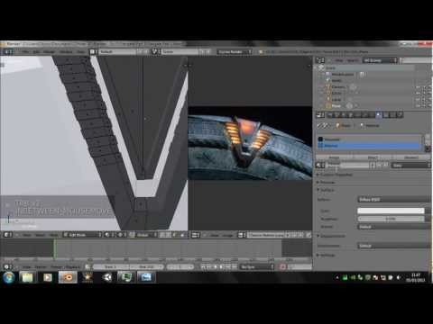 Blender 2.66 Tutorial How to make a Stargate Part 1