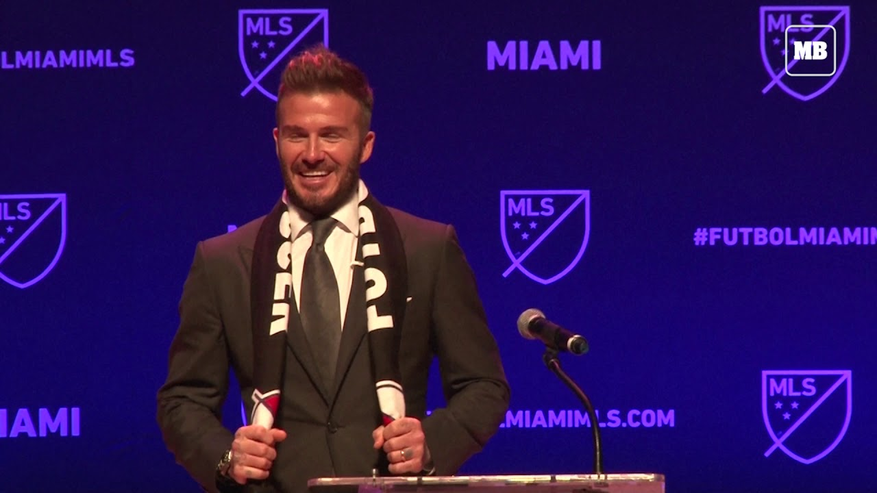 Football; Beckham awarded MLS franchise in Miami