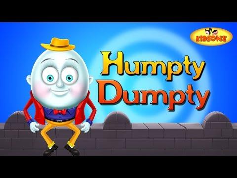 Humpty Dumpty Nursery Rhyme For Preschool Kids - KidsOne