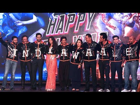 Happy New Year Trailer launch | Shah Rukh announces nude poster like Aamir Khan's PK