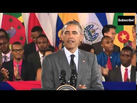 Barack Obama in Jamaica (Patois)