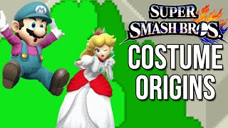 Super Smash Bros. Costume Origins - Mario Series – Aaronitmar