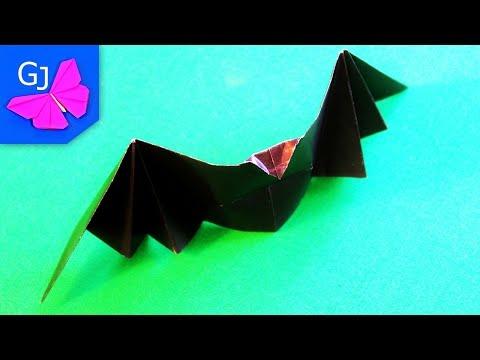 Download Lagu Как сделать ЛЕТУЧУЮ МЫШЬ ХЛОПАЮЩУЮ КРЫЛЬЯМИ. Оригами летучая мышь. Origami Bat Mp3 (15.55 MB)