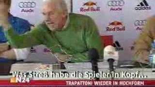 Giovanni Trapattoni 2007: ..noch nicht fertig…