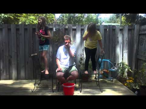 Derek takes the ALS Ice Bucket Challenge
