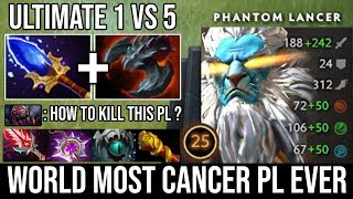 Trust Me This is the Most Cancer PL I've Ever Seen | WTF 1Vs5 with Satanic Vs Godlike Brood DotA 2
