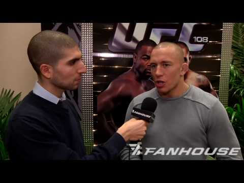 Georges St-Pierre talks Olympics Dreams, New Calendar, Dan Hardy Trash Talk Video