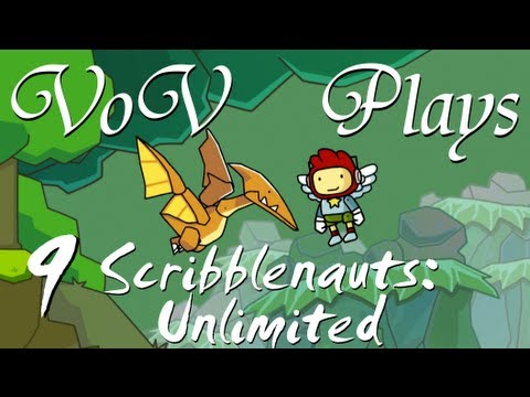 VoV Plays Scribblenauts Unlimited - Part 9: Videogame Piracy