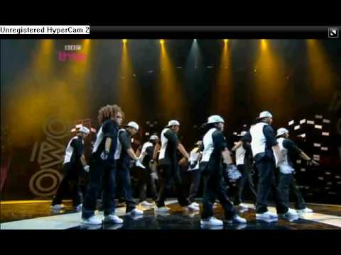 Diversity Performing At The Mobo Awards