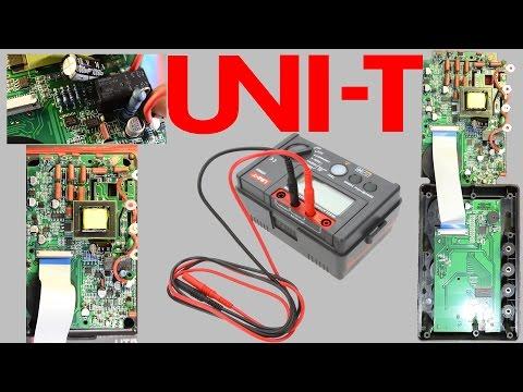 Мегаомметр UNI-T UT502A 2500В проверка и вскрытие