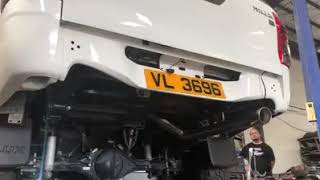 Hilux 2 8 full Borla Exhaust