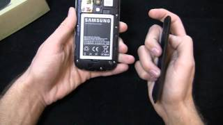 Samsung Galaxy Exhilarate Unboxing