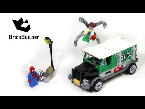 Lego Super Heroes 76015 Doc Ock Truck Heist Build and review