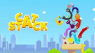 CAT STACK Gameplay Trailer NEW ANDROID GAMES on GplayG