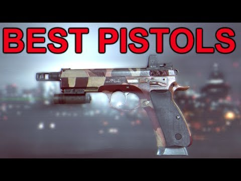 Battlefield 4 - Review Of Pistols What Is The Best One? video